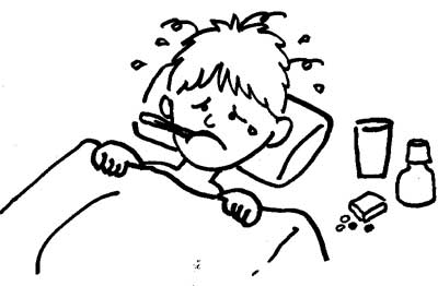 Fever clipart malnourished child. Common childhood sicknesses take