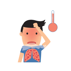 Fever clipart pneumonia patient. Get past your health