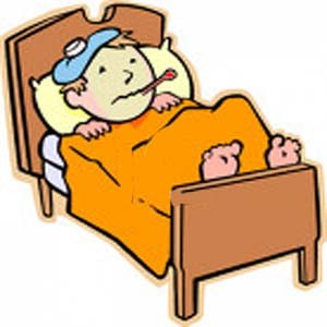 Fever clipart poorly child. Immunity patient education childwithfever