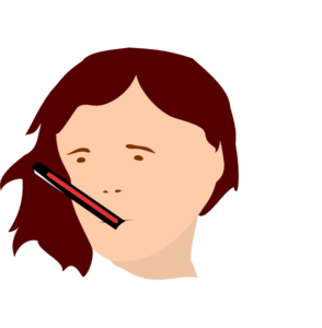 Fever clipart sick girl. Png transparent images pluspng