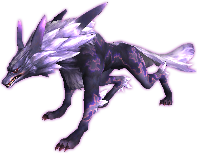 Fenrir drawing mythical creature. Image ffxi png final