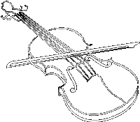 Fiddle drawing cool. Violin line at getdrawings