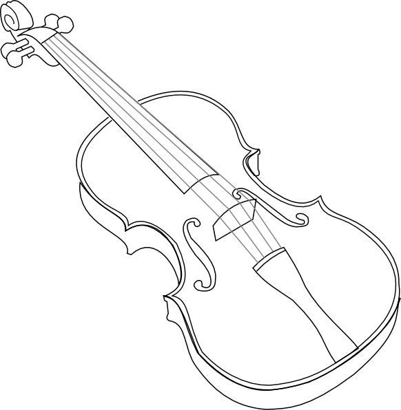 Violin line at getdrawings. Fiddle drawing sketch image black and white stock