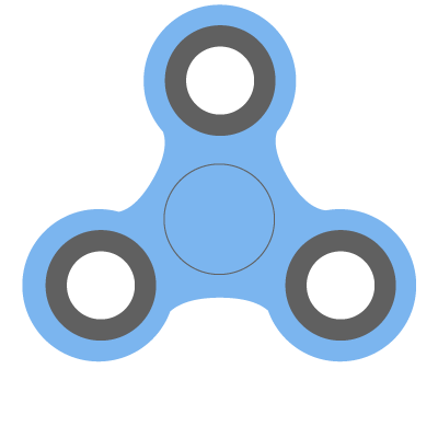 Fidget spinner clipart. Spin the online selector