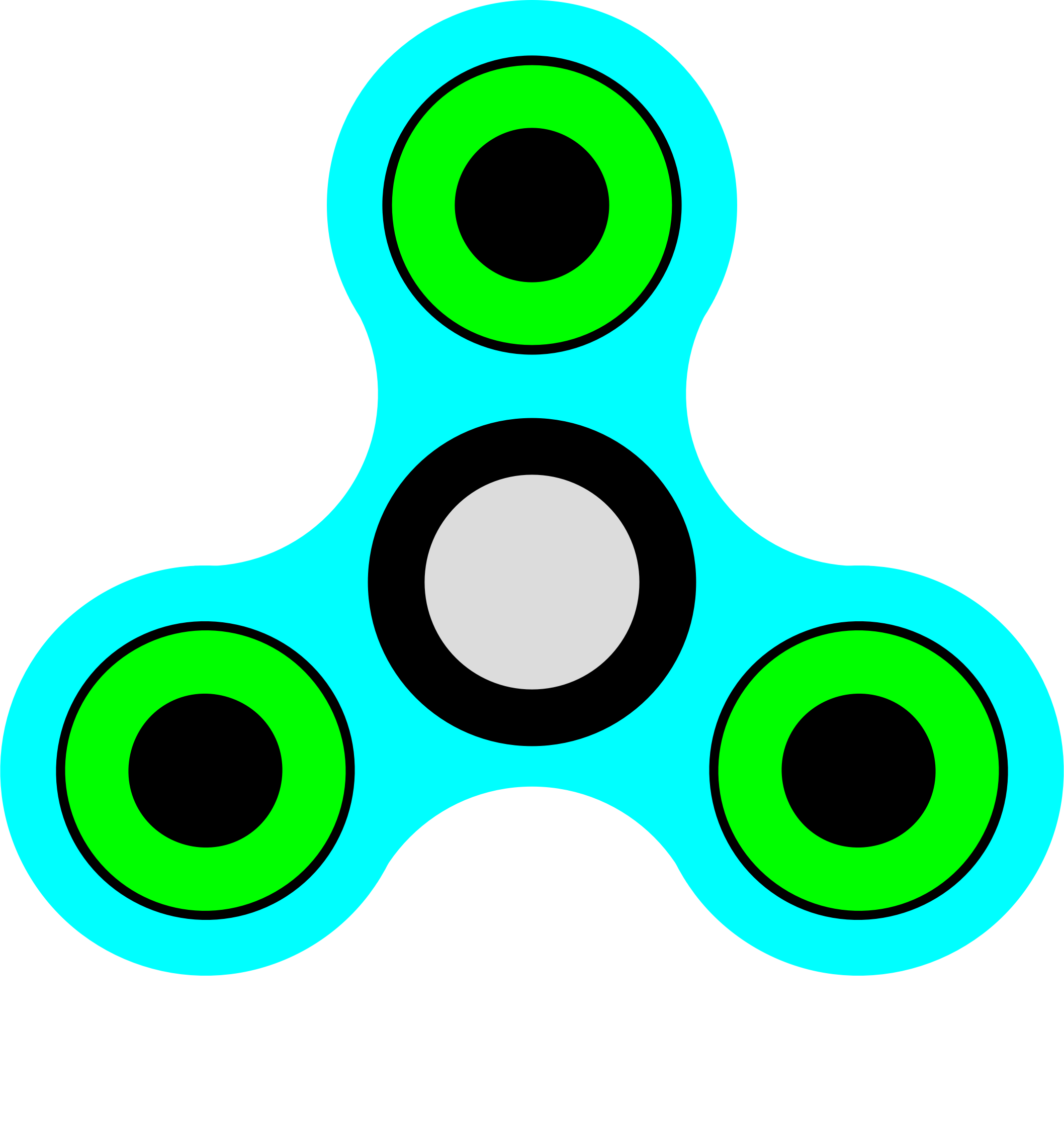 Big image png. Fidget spinner clipart banner free stock