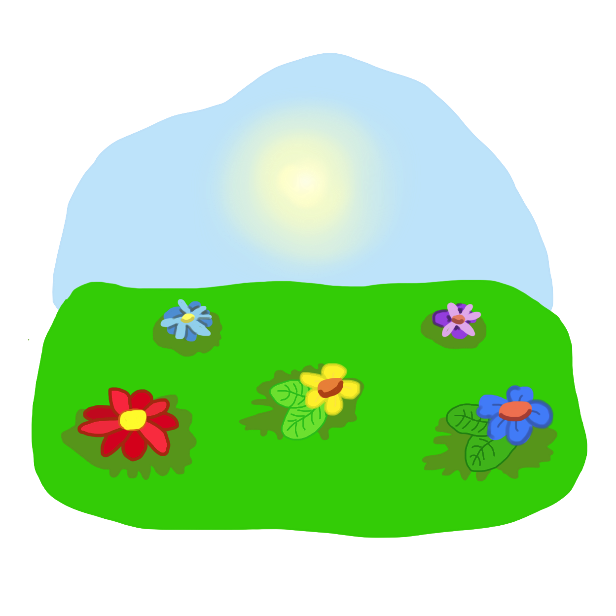 Field clipart. Track and set clip
