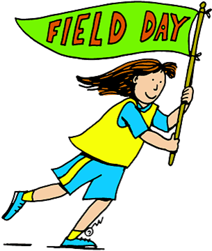 Field clipart banner. On your mark get