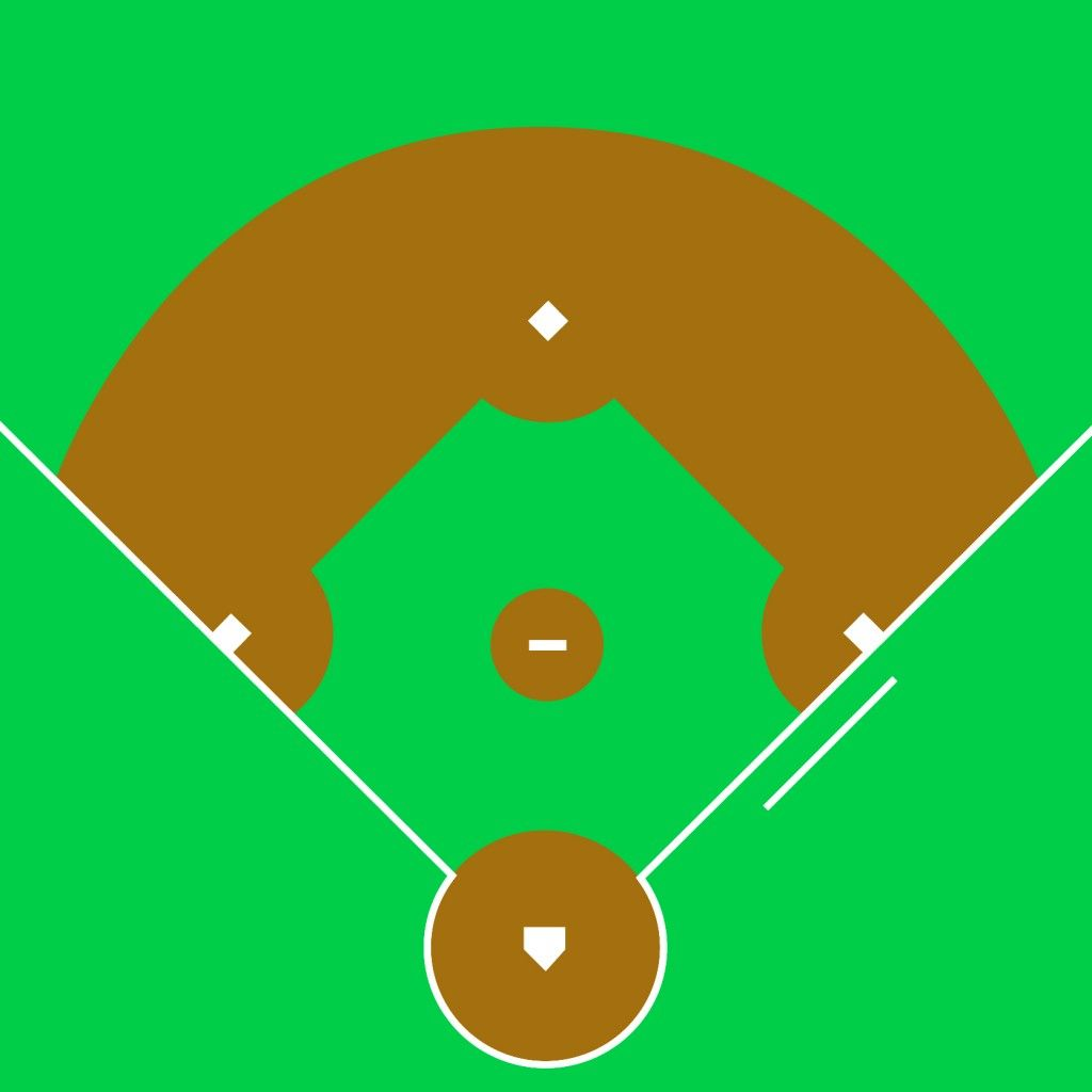 baseball clipart baseball field