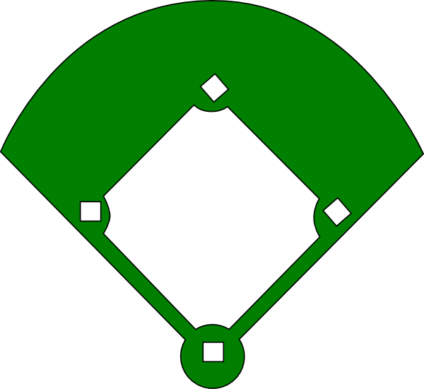 Field clipart baseball. Diamond panda free images