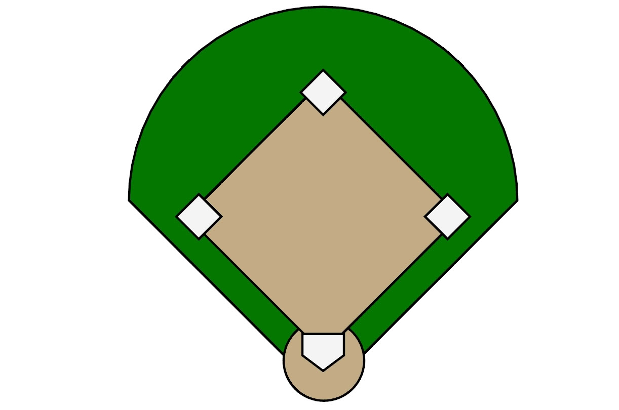 Field clipart baseball. New gallery digital collection