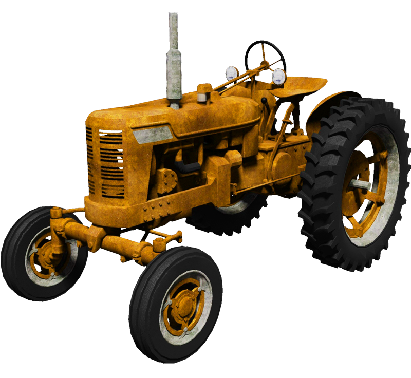 Field clipart tractor. Png images free download