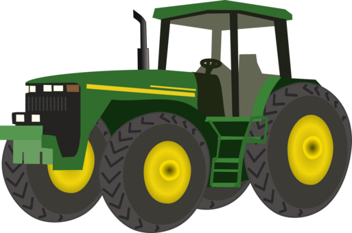 Field clipart tractor. John deere agriculture farm