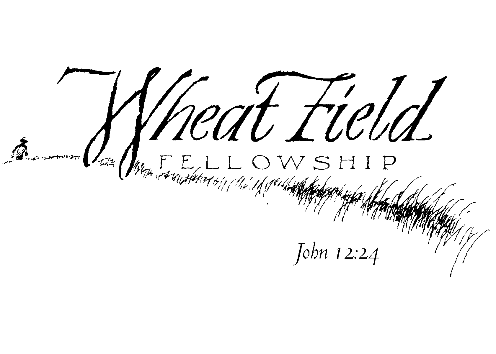 Field clipart wheatfield. Wheat fellowship logo image
