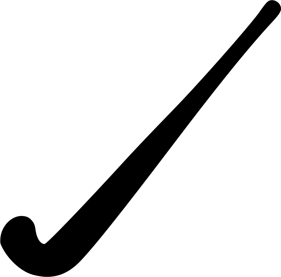 Hockey stick outline png. Field high quality image