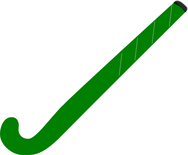Field hockey stick clipart filled in png. Green clip art at