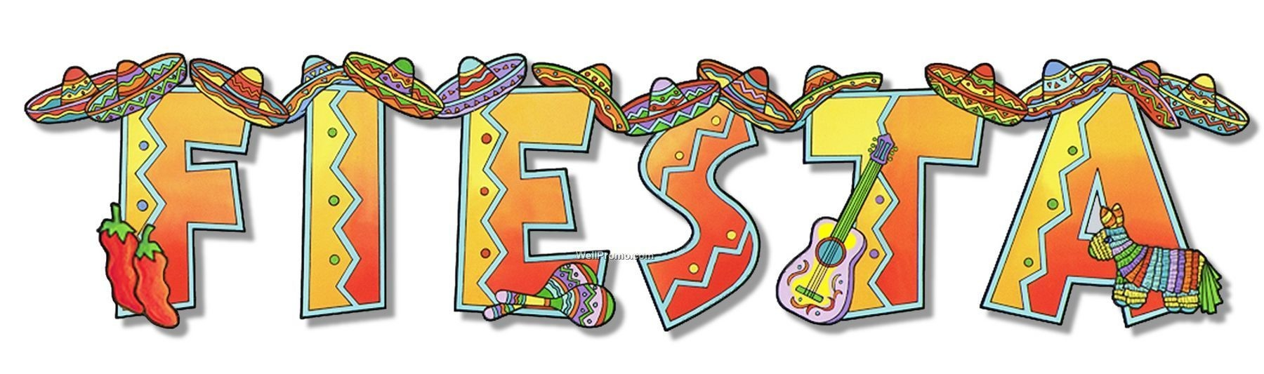 Fiesta clipart. Awesome collection digital r