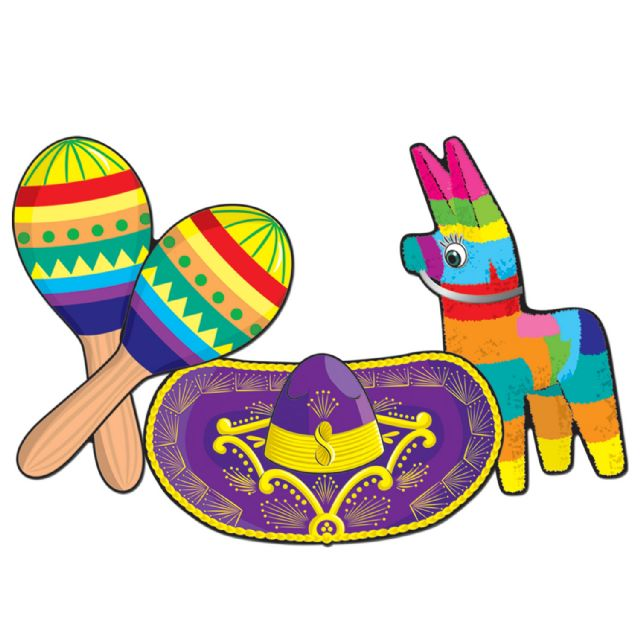 Spanish clipart maraca spanish. Mexican fiesta clipartix