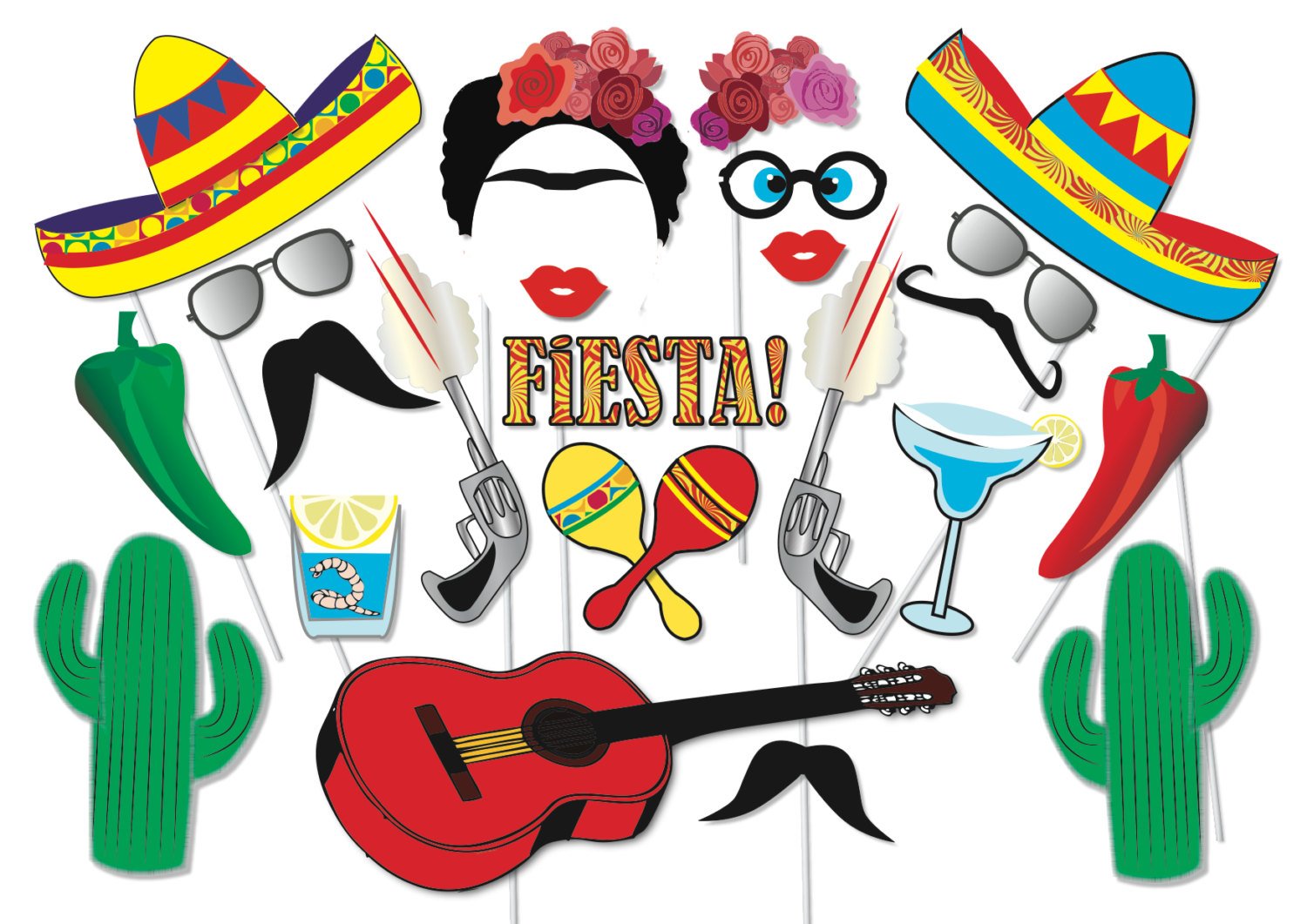 Fiesta clipart fiesta mexicana. Enamour mexican party table