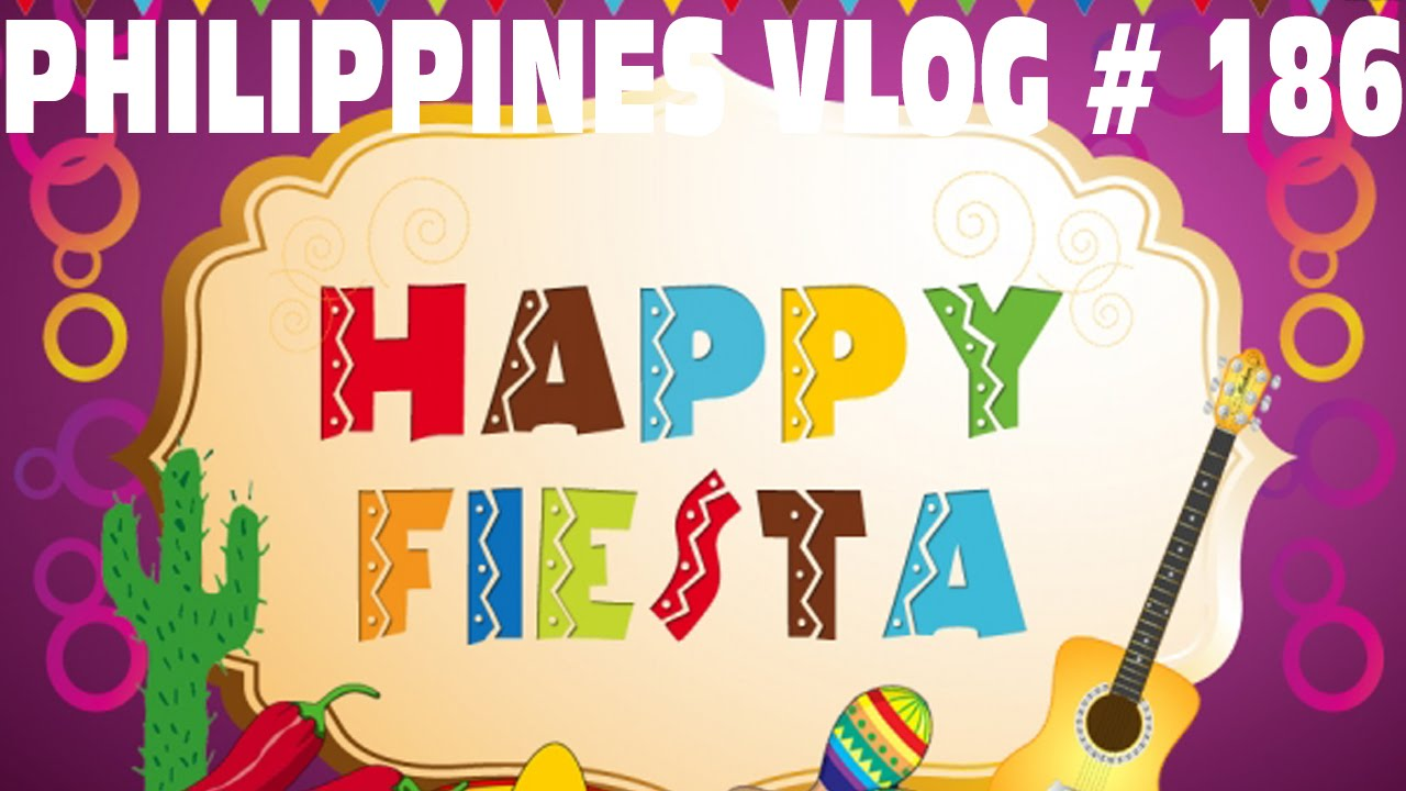 Fiesta clipart happy. Dau philippines vlog youtube
