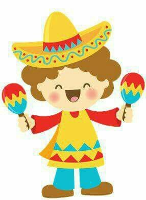 Fiesta clipart happy. Pin by marissa rico