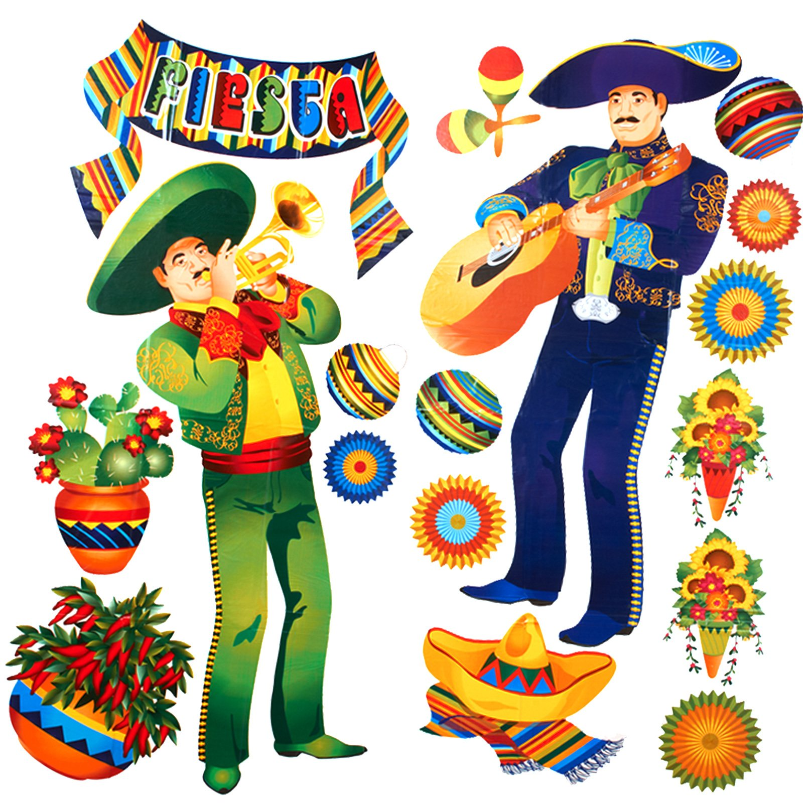 Fiesta clipart happy. Marigold theme free best