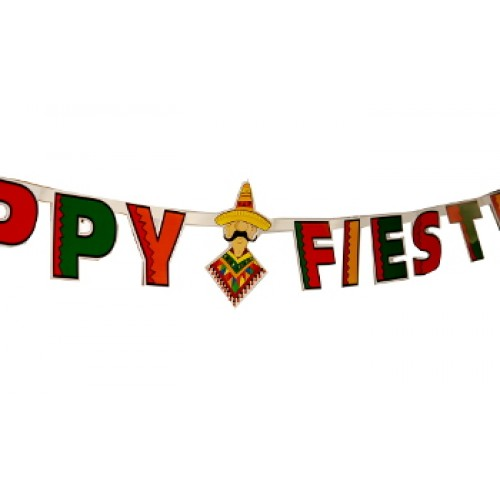 Fiesta clipart happy. X banner