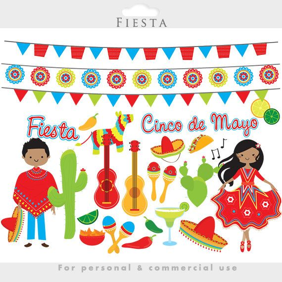 Fiesta clipart hispanic teacher. Mexican cinco de mayo