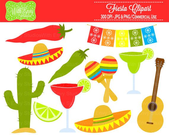 Fiesta clipart market mexican. Best images on
