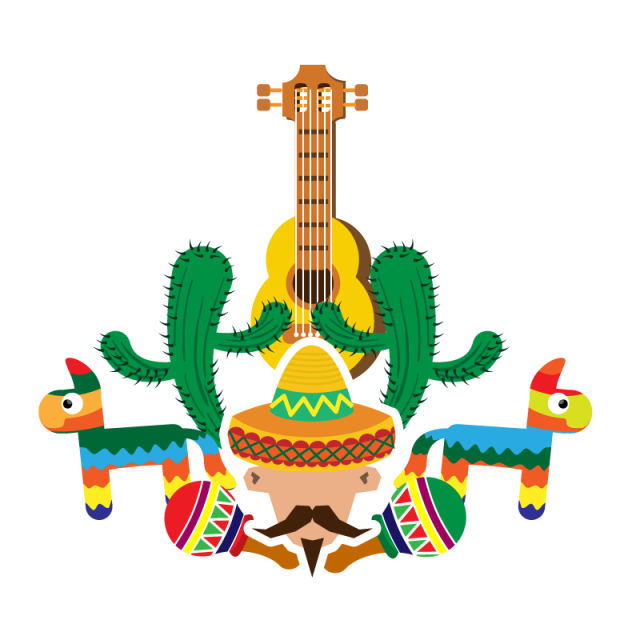 Mexican flowers vector png. Celebraci n mexicana conmemorativa