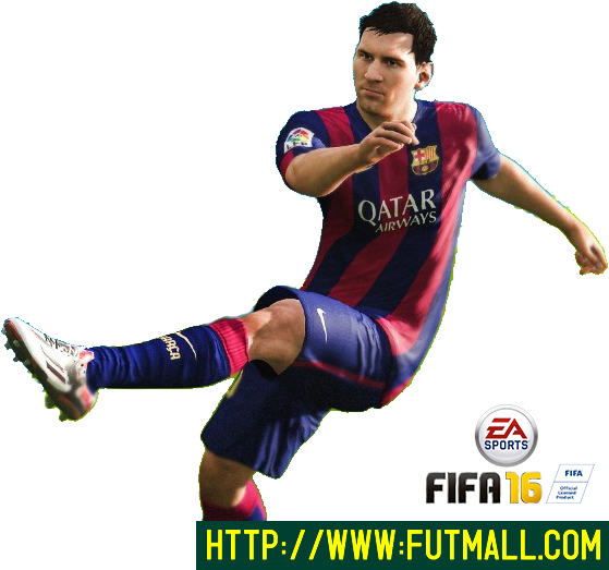 Fifa 16 messi png. Futmall com by on
