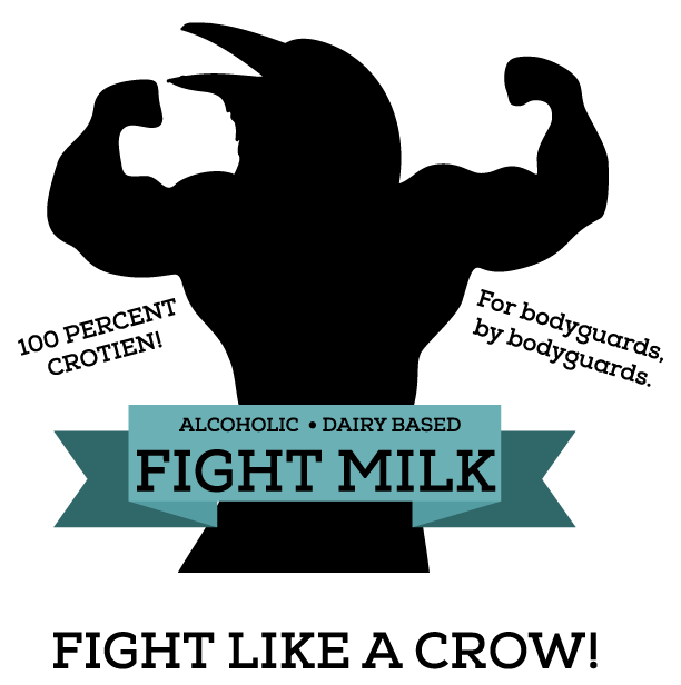 Fight arms png. Milk tradepost tees