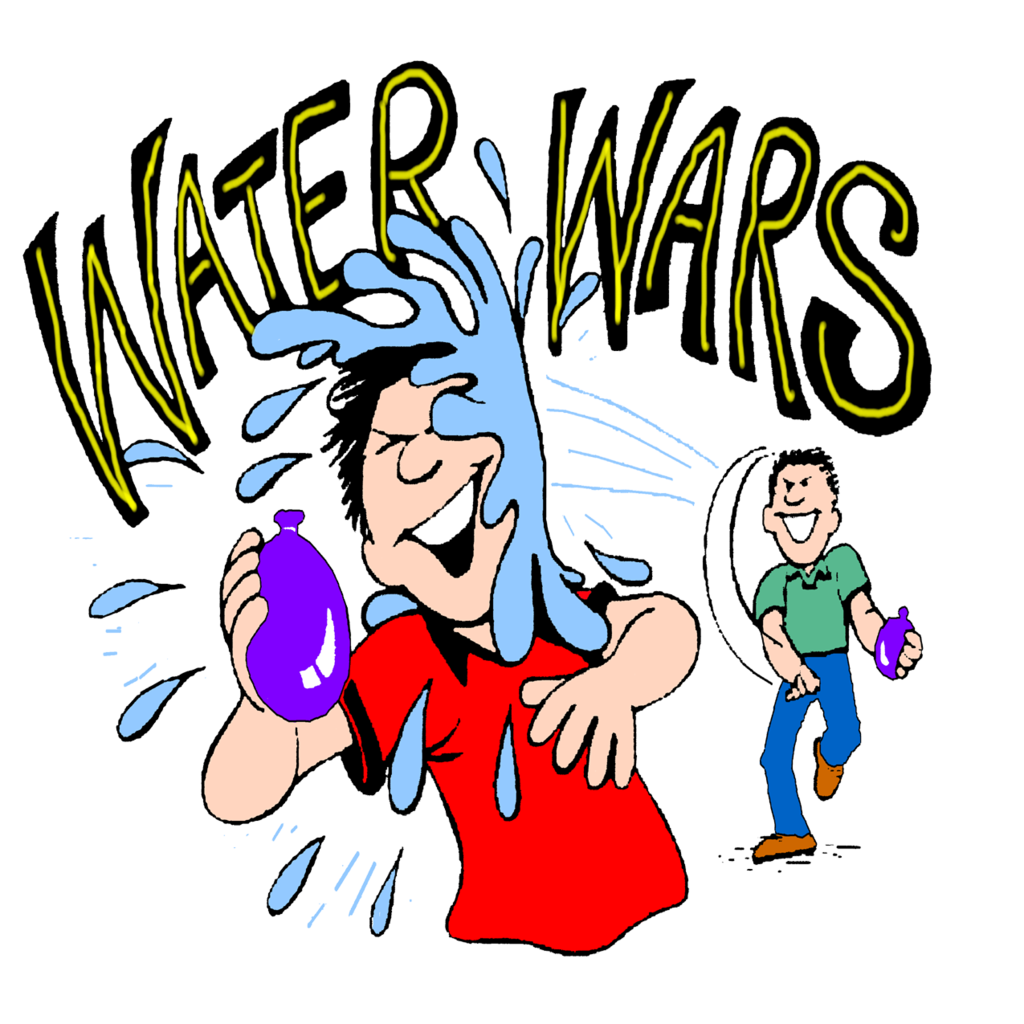 Fighting clipart victory flag. Water fight clip art