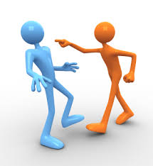 Fight clipart aggressive communication. Learning communicating online by