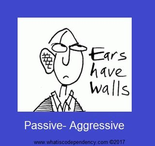 Fight clipart aggressive communication. Is your partner passive