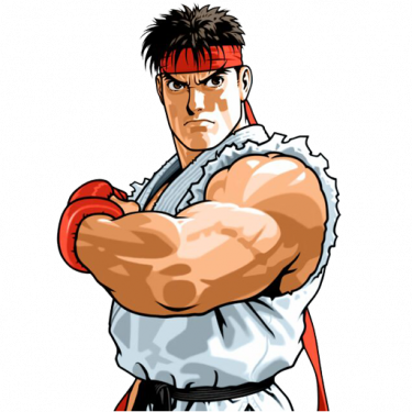 Fight clipart criminal. Fighting ryu free on