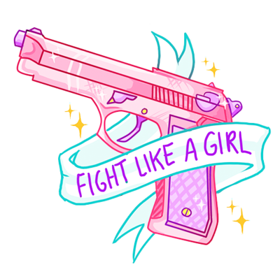 Fight like a girl png. Via tumblr on we