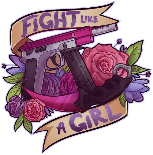 Fight like a girl png. I m bexxy made