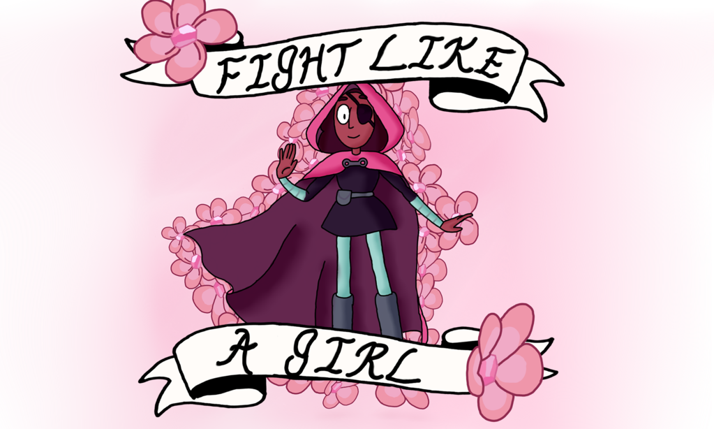Fight like a girl png. Connie maheswaran by derpfacederpface
