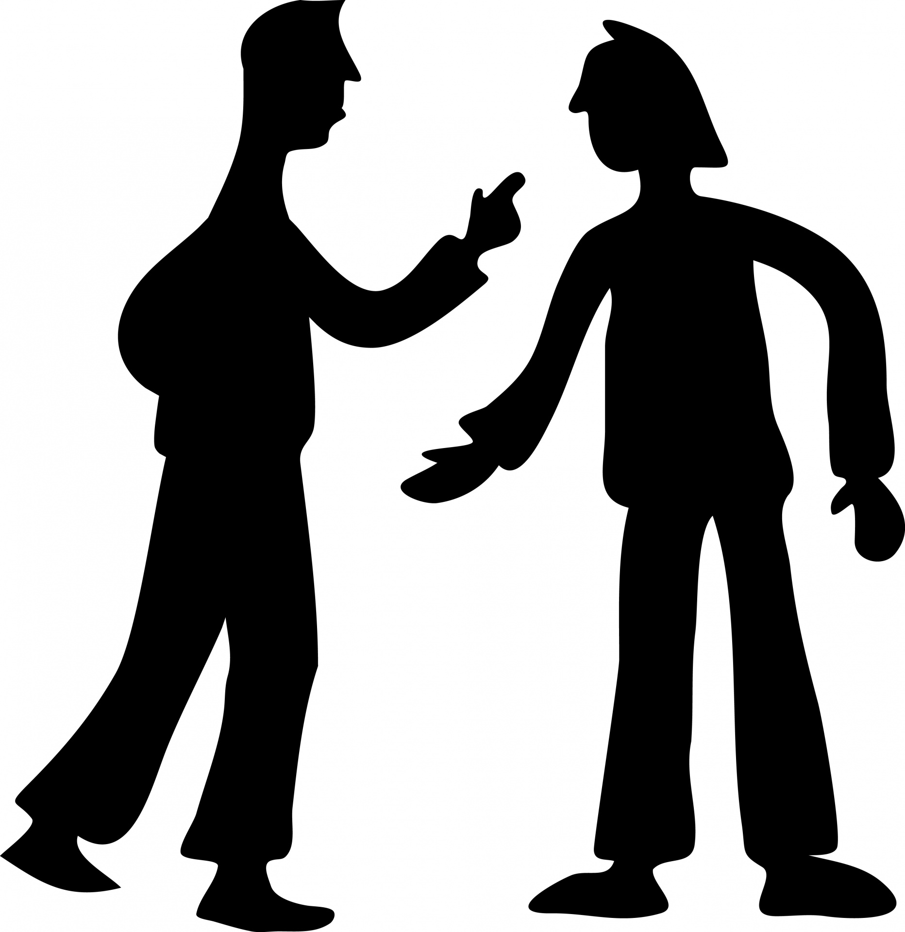 Fighter clipart conflict. Fight silhouette at getdrawings
