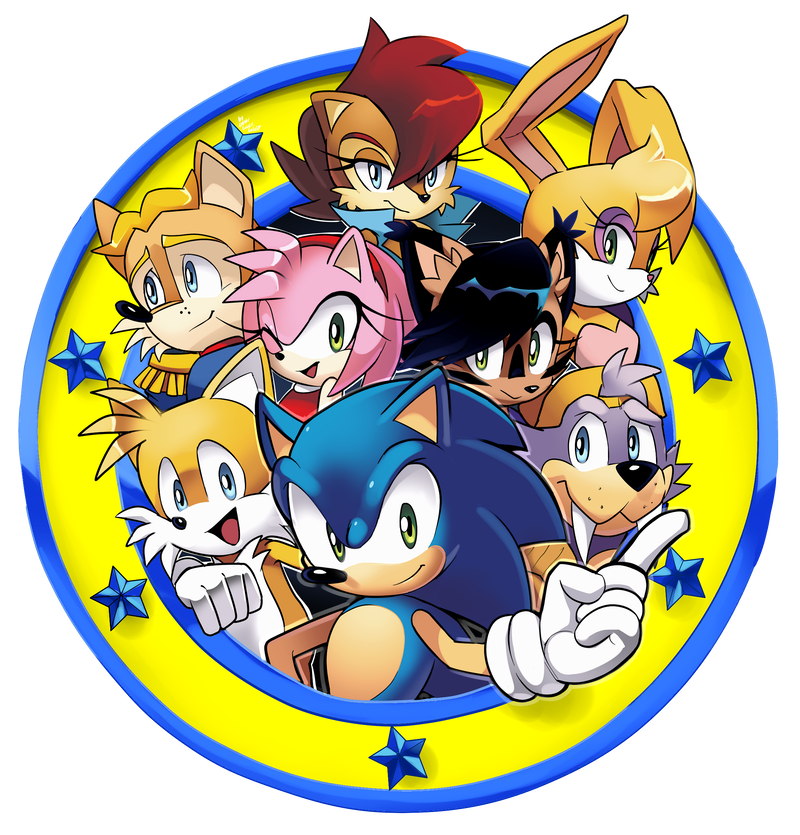 Fighter drawing freedom. Fighters emblem archie sonic