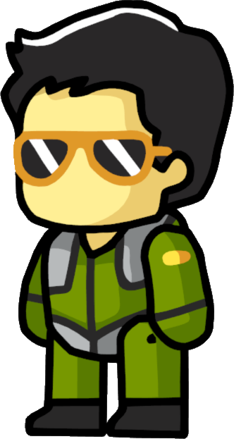 Fighter clipart military pilot. Scribblenauts wiki fandom powered