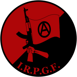Fighter clipart revolutionary. International people s guerrilla