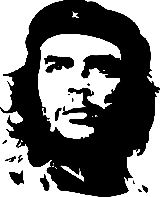 Fighter clipart revolutionary. Free photo che guevara