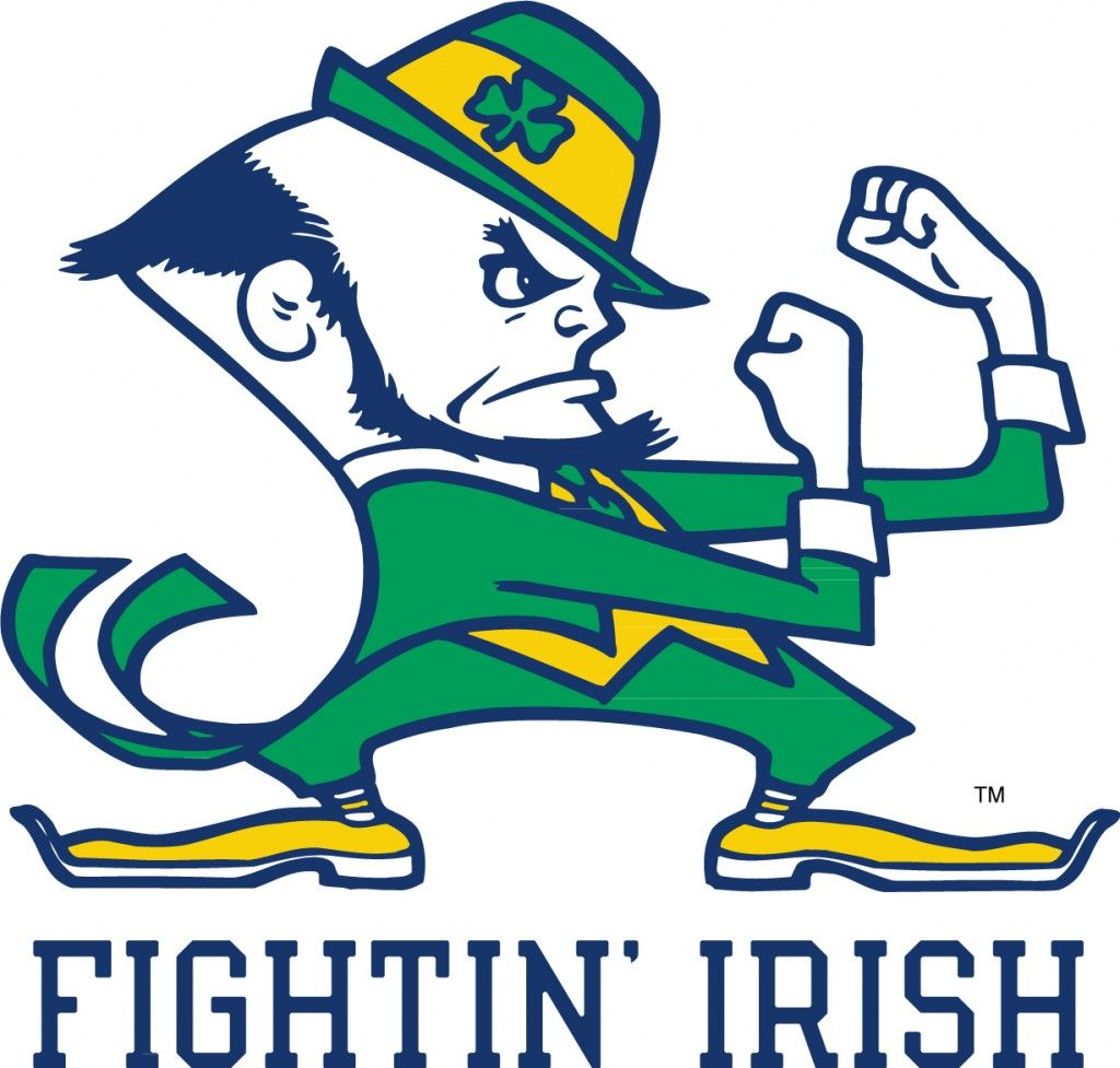 Fighting clipart belligerence. Fightin irish notre dame