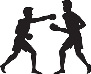 Fighting clipart boxing match. Fight panda free images