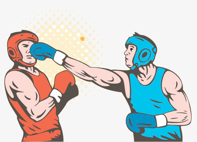 Fighting clipart boxing match. Boxer game png image