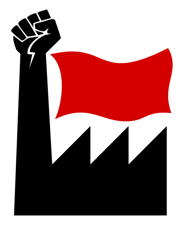 Fighting clipart victory flag. Laborer socialism logo working
