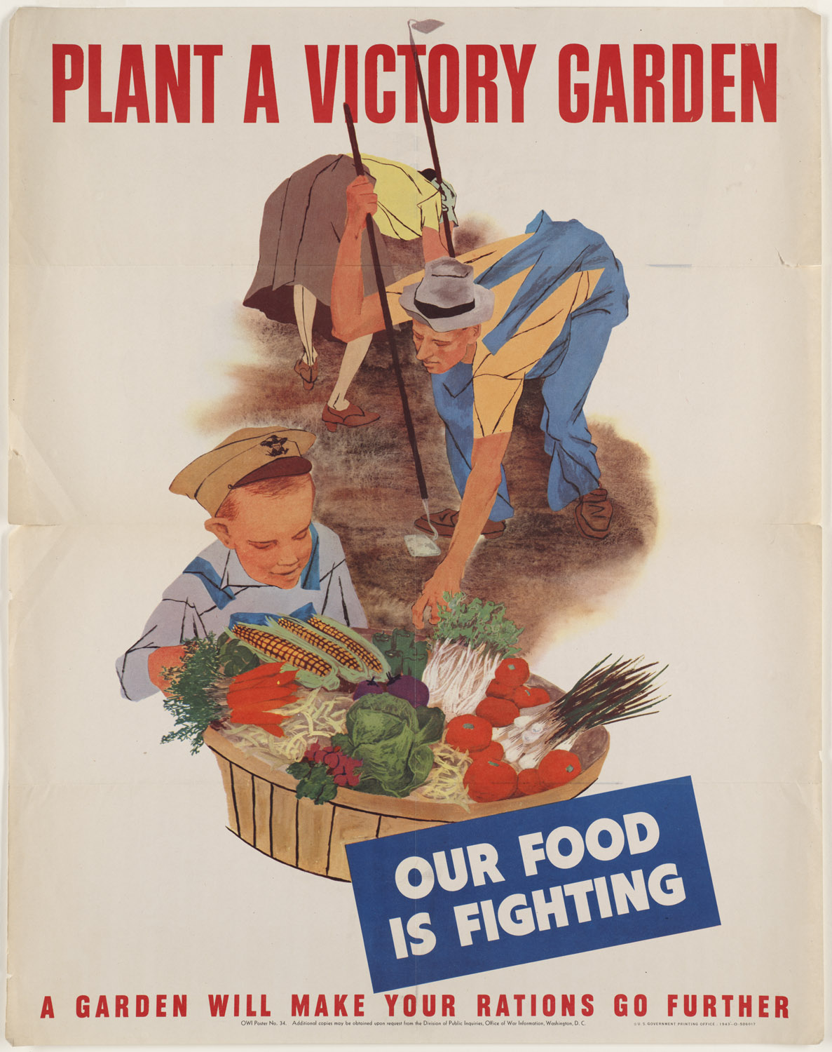 Fighting clipart war victory. Patriotic garden poster from