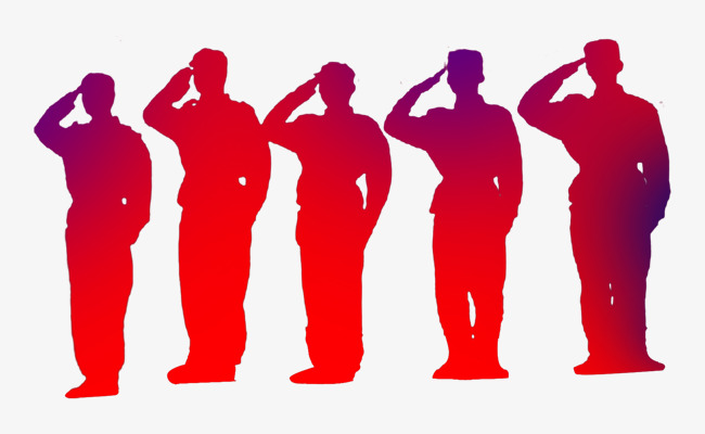 Fighting clipart war victory. Soldiers salute chinese style