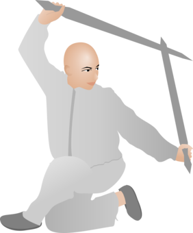 Fighting clipart martial art. Sparring kumite karate arts